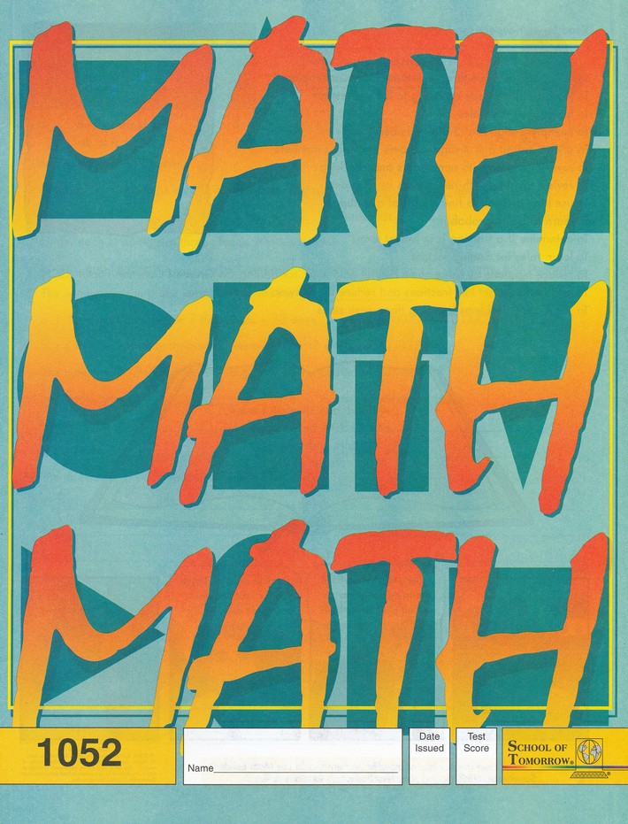 Latest Edition Math PACE 1052, Grade 5