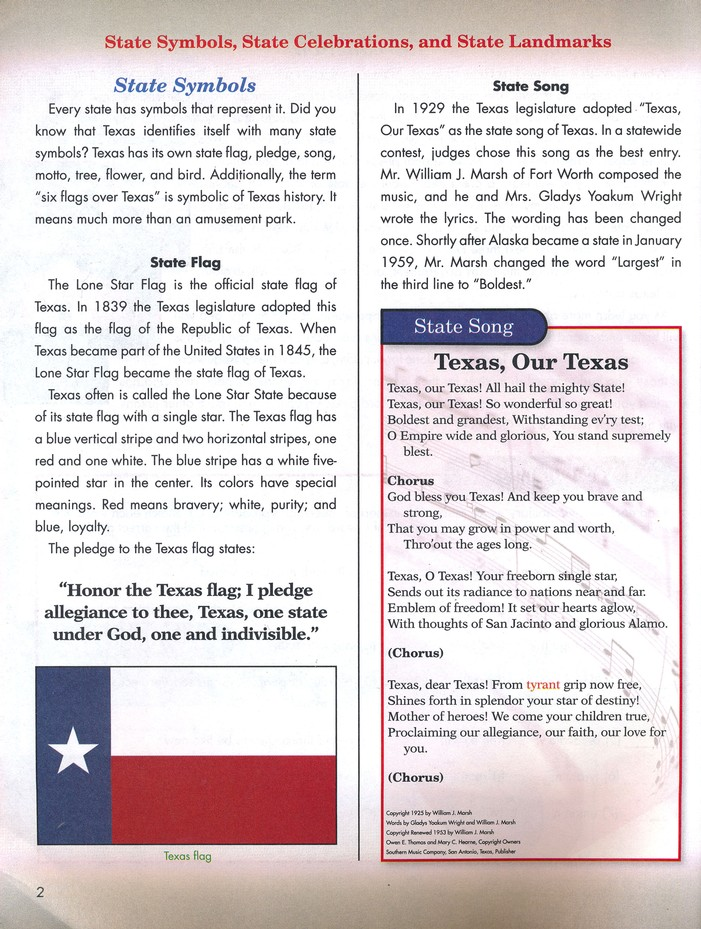 4th Edition Texas State History Pace 1079 Grade 7 Christianbook