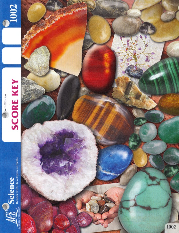 Science PACE SCORE KEY 1002, Grade 1, 4th Edition