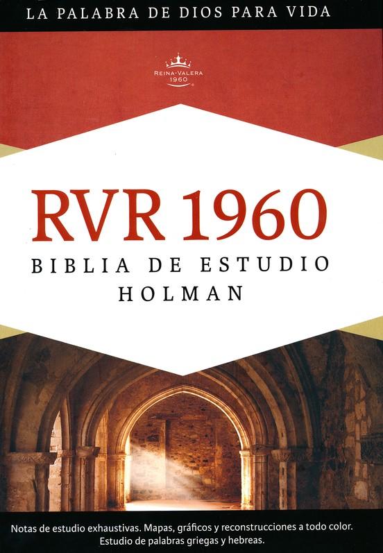 Biblia De Estudio Rvr 1960 Holman Enc Dura Rvr 1960 Holman Study