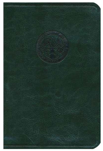 HCSB Soldier's Bible, Green Simulated Leather