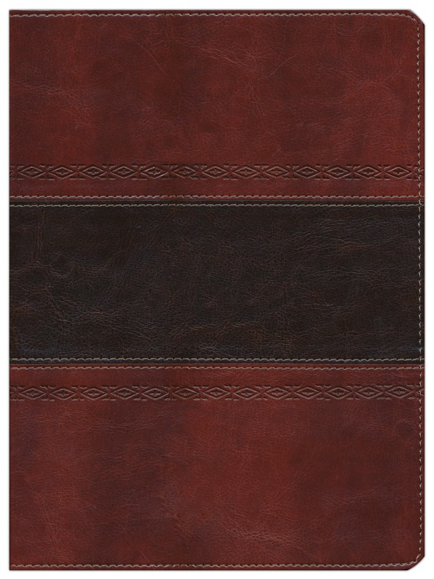 HCSB Apologetics Study Bible. Mahogany Simulated Leather