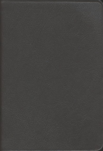 NASB Pitt Minion Reference Bible, Goatskin leather, brown