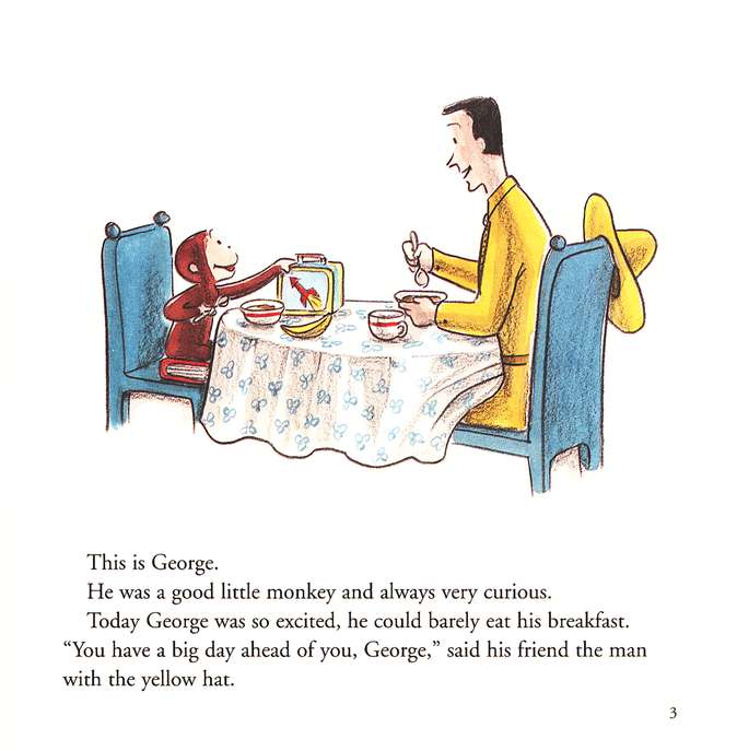 Read Along fun with Curious George: Curious George's  First Day of School, Book and CD