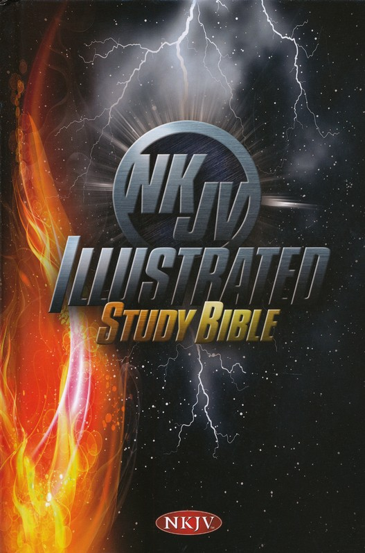 NKJV Illustrated Study Bible for Kids, Boys' Edition--hardcover