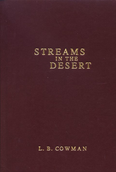 Streams in the Desert - Slightly Imperfect
