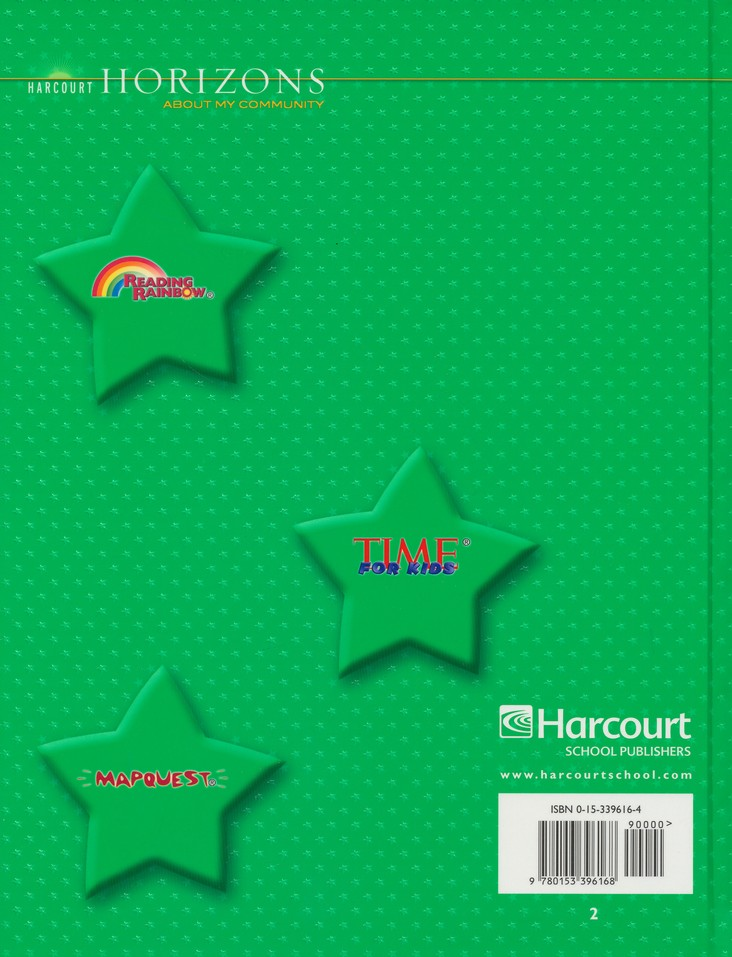 Harcourt Horizons Grade 2 Homeschool Package with Parent Guide CD-ROM