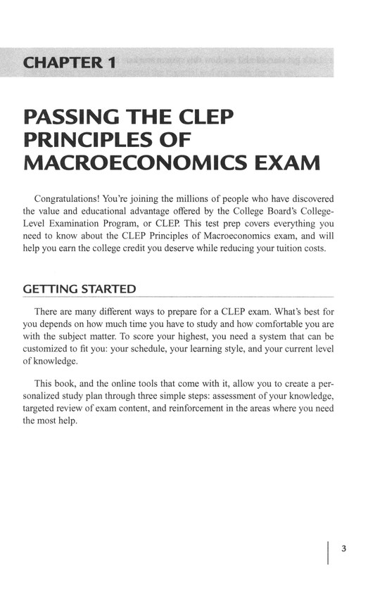 principles of management clep pass rate