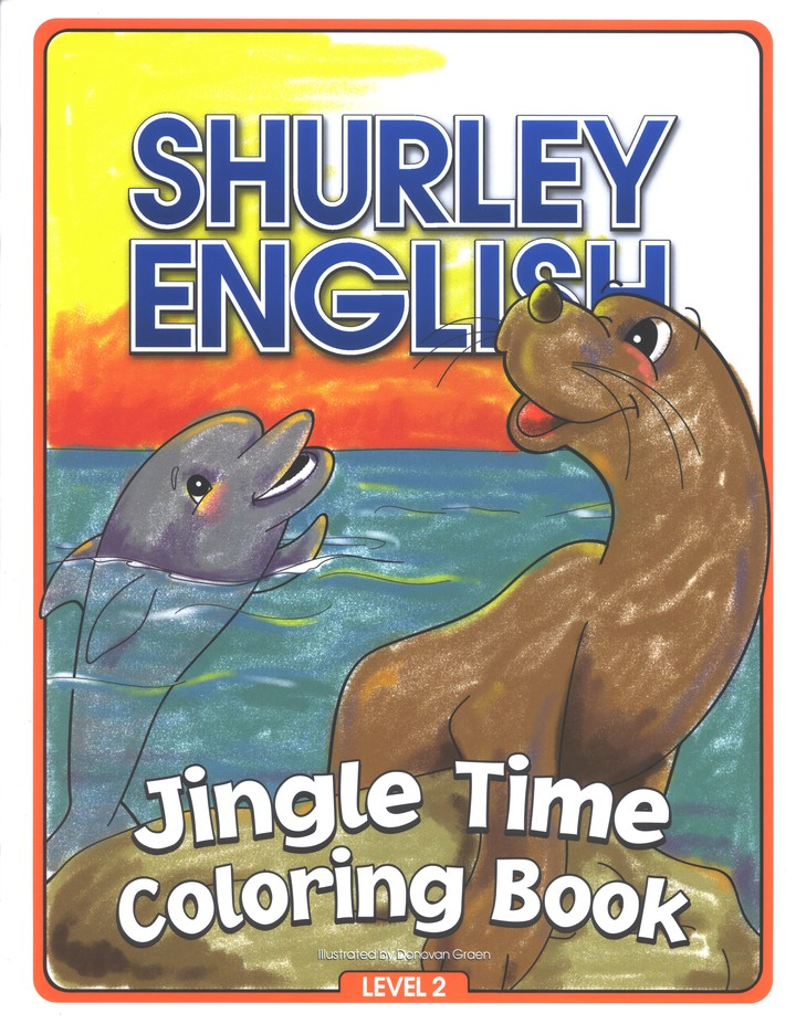 Jingle Time Coloring Book Level 2