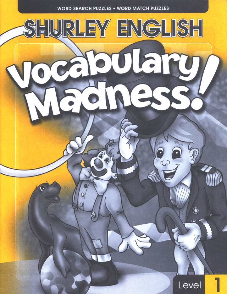 Shurley English Vocabulary Madness! Level 1
