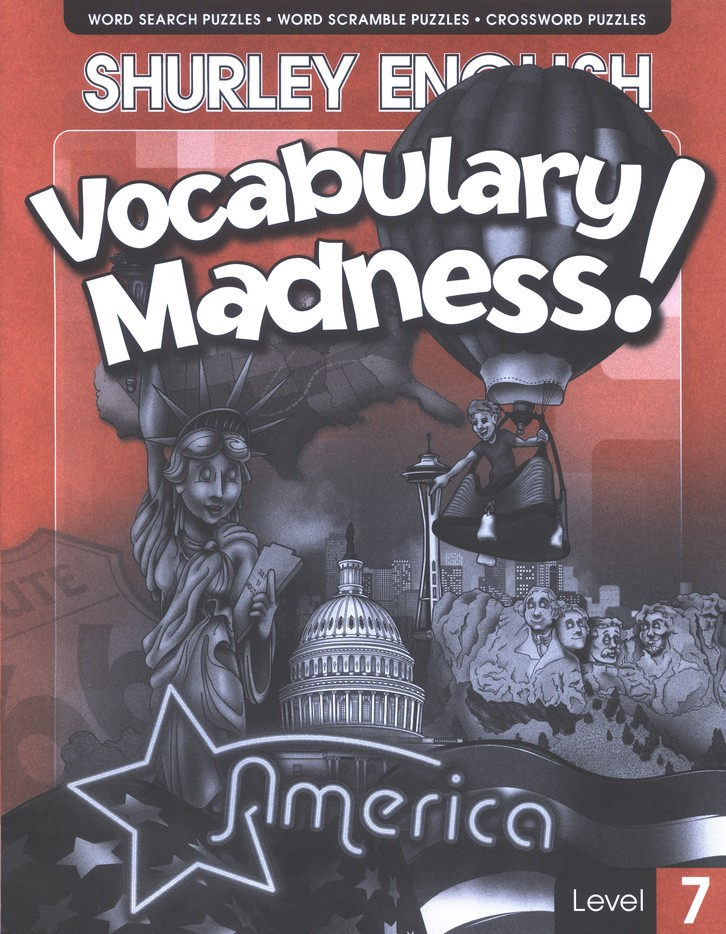 Shurley English Vocabulary Madness! Level 7