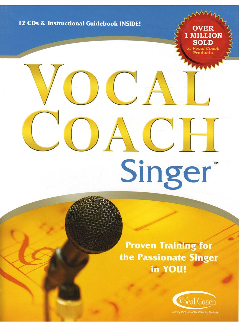 Vocal Coach Singer 12 CD Set with Workbook