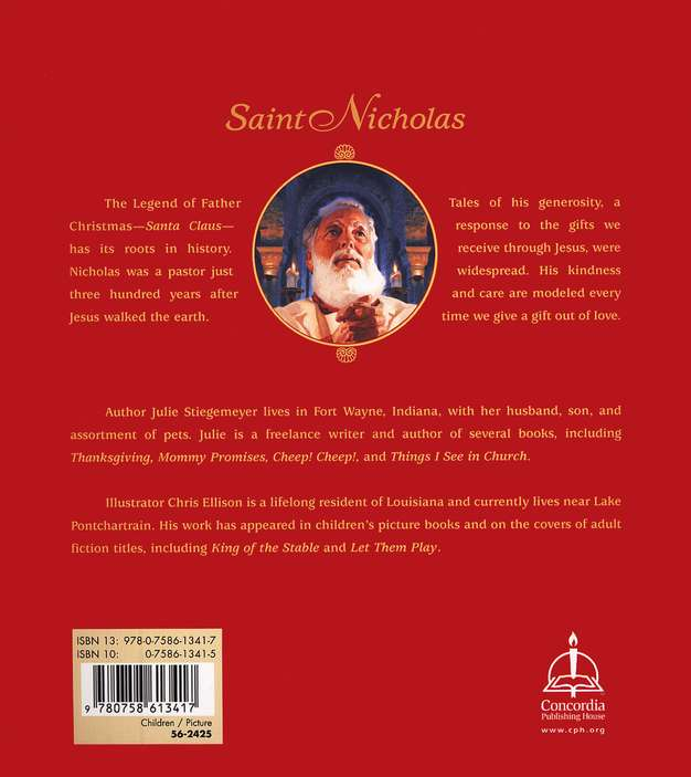 Saint Nicholas: The Real Story of the Christmas Legend, Softcover