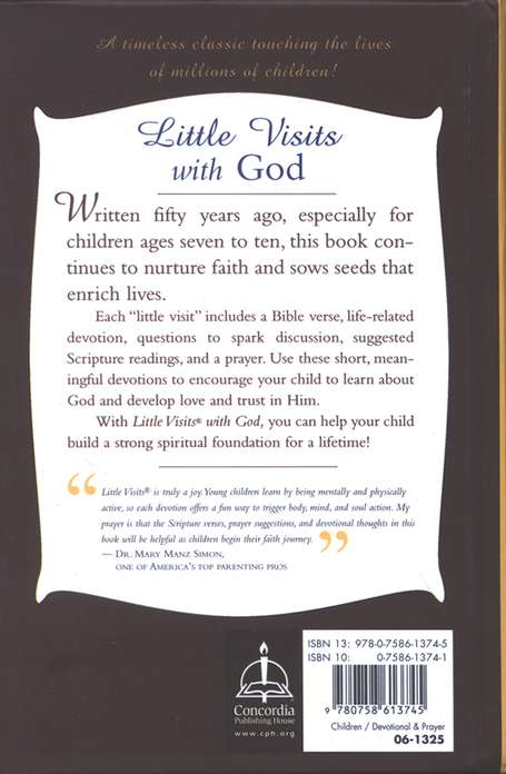 Little Visits with God: 50 Year Golden Anniversary Edition