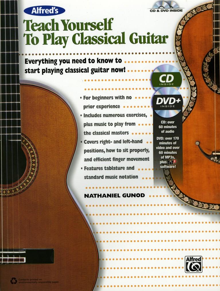 Teach Yourself Classical Guitar / Book, CD & DVD