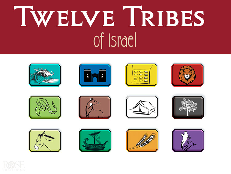 Twelve Tribes Of Israel Powerpoint Cd Rom 9781628623512