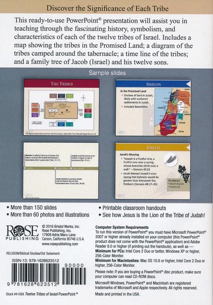Twelve Tribes of Israel - PowerPoint® CD-ROM