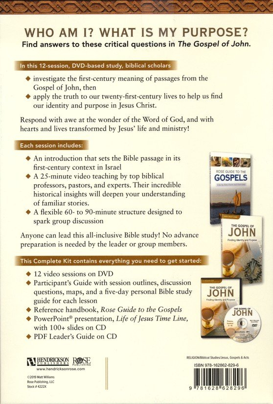 The Gospel According to John Complete Kit
