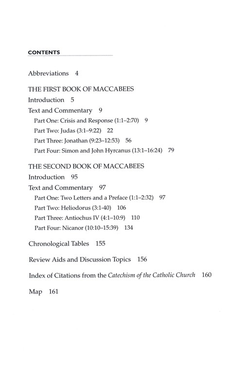 First and Second Maccabees: New Collegeville Bible Commentary