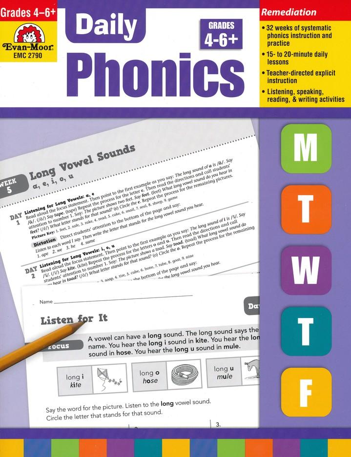 Daily Phonics Grades 4 6 9781609634445 Christianbook