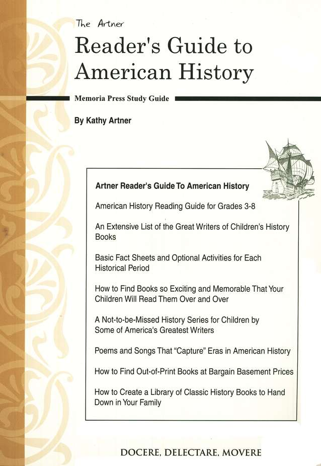 The Artner Reader's Guide to American History
