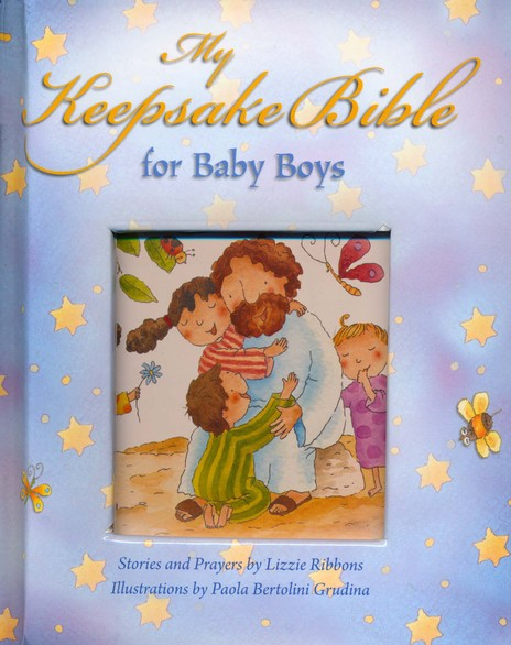 My Baby Keepsake Bible--Baby Boys