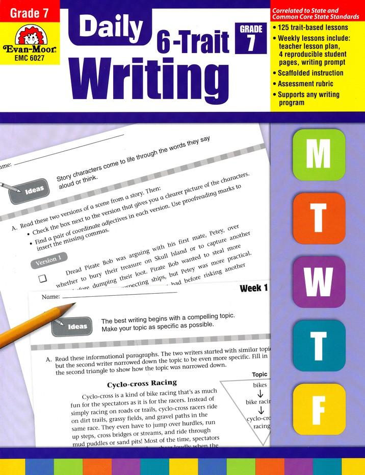 Daily 6 Trait Writing Grade 7