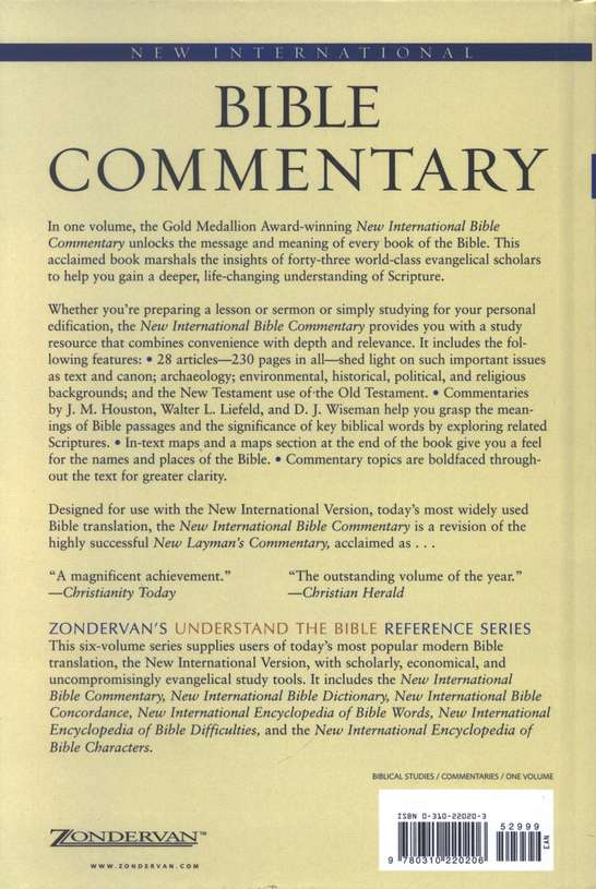 New International Bible Commentary, Based on the NIV