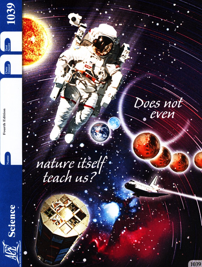 4th Edition Science PACE 1039 Grade 4