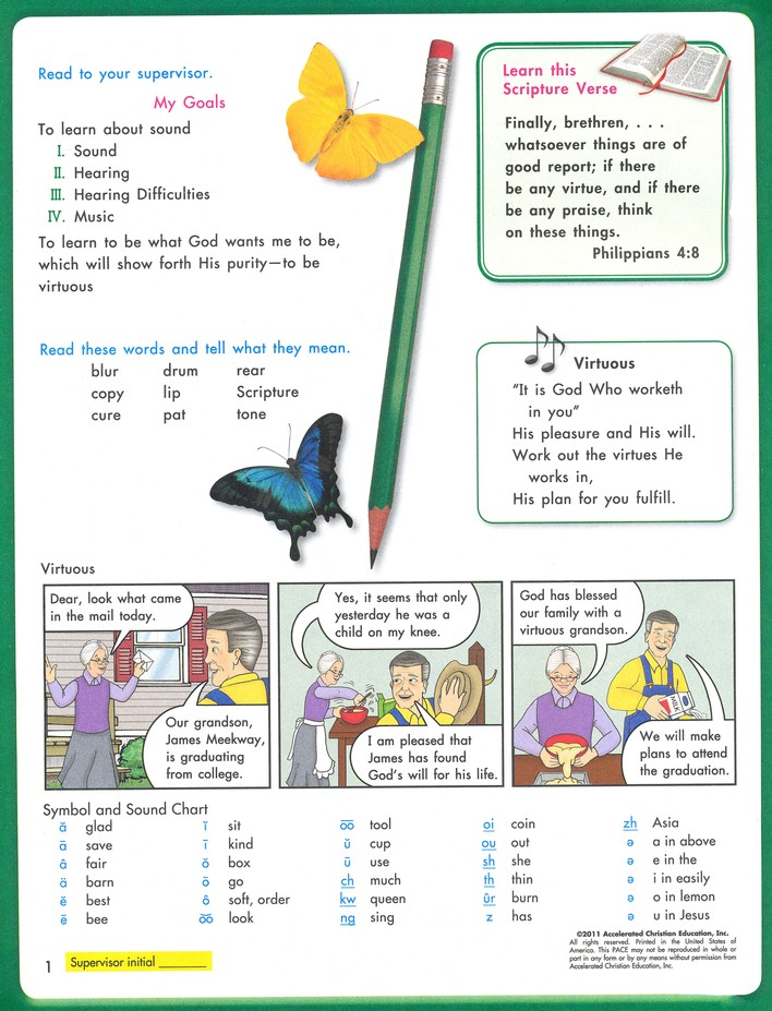 Science PACE 1058 (4th Edition) Grade 5