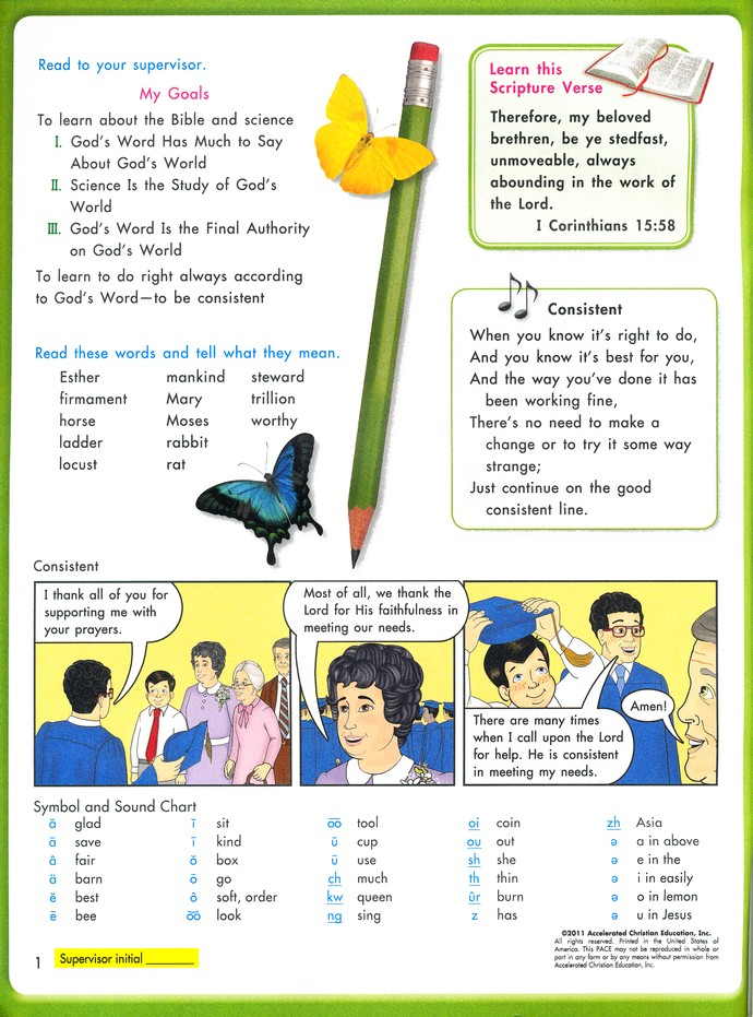 Grade 5 Science PACE 1060 (4th Edition)