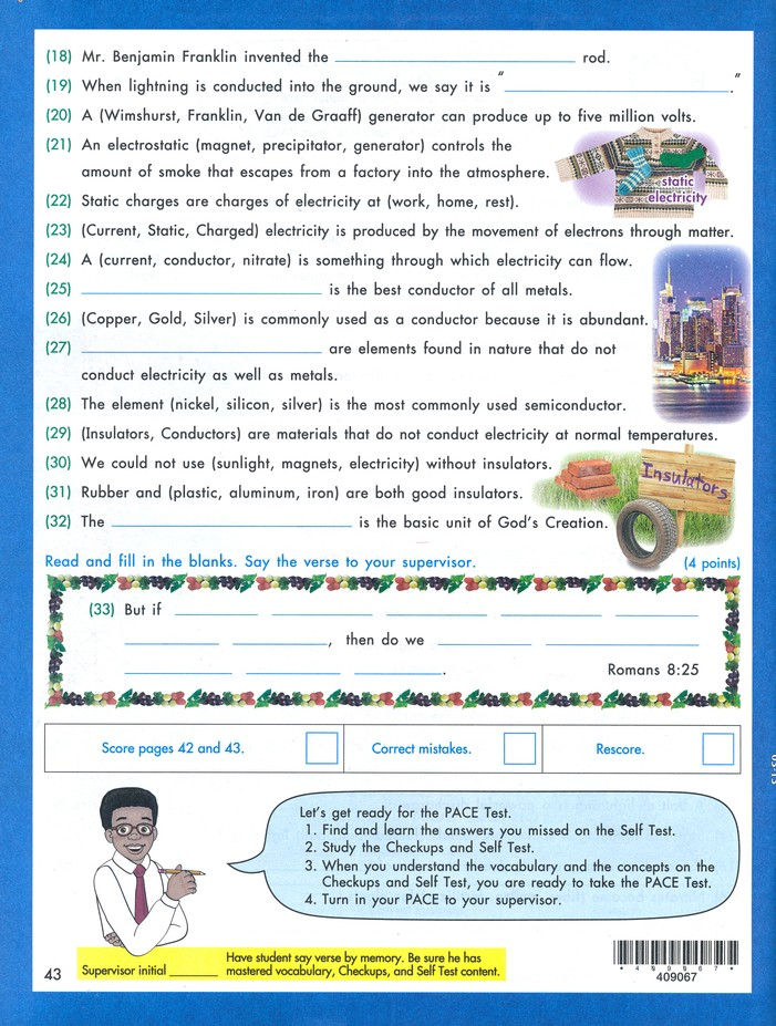 Science PACE 1067, Grade 6 (4th Edition)