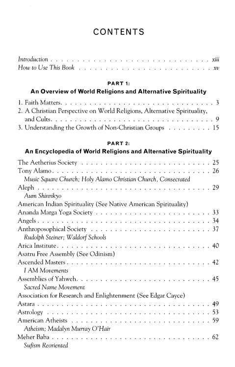 Larson's Book of World Religions and Alternative Spirituality