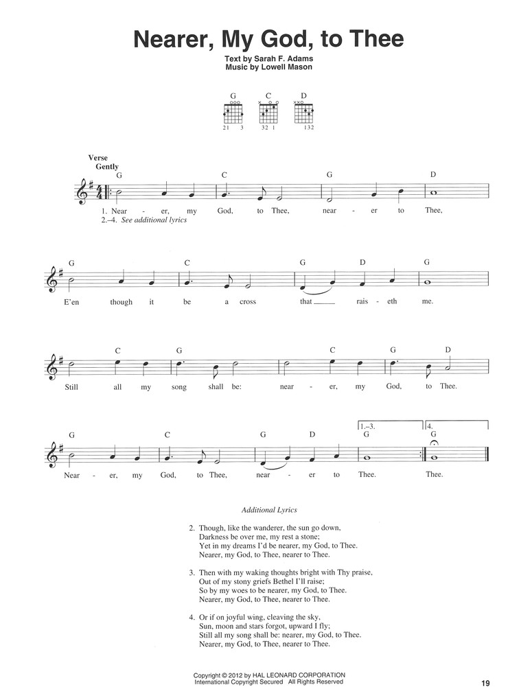 3 Chord Hymns For Guitar 9781458424679 Christianbook