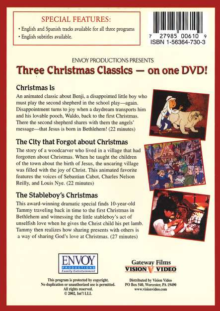 Three Christmas Classics