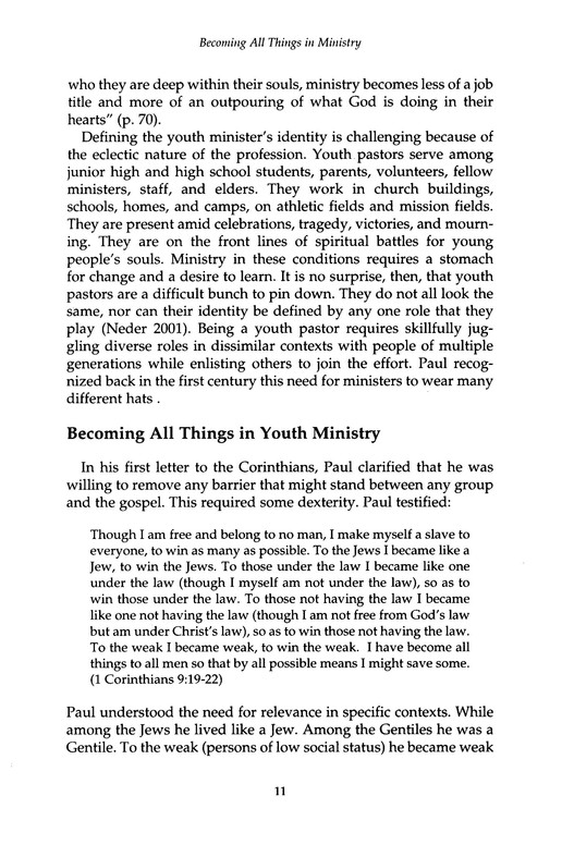 Youth Pastor: The Theology and Practice of Youth Ministry