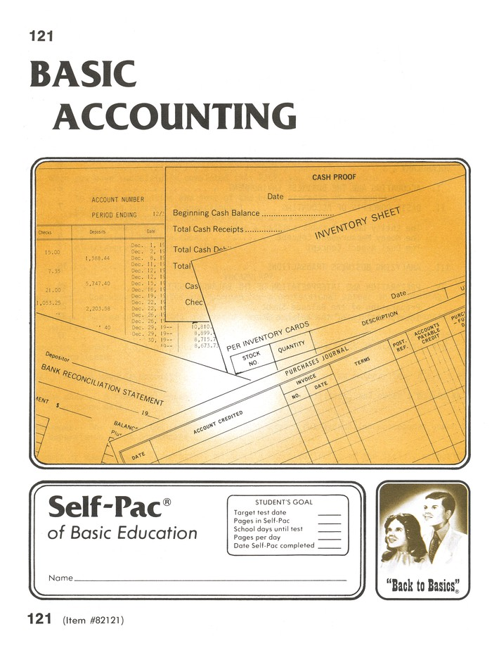 High School Business Elective: Accounting PACEs 121- 132