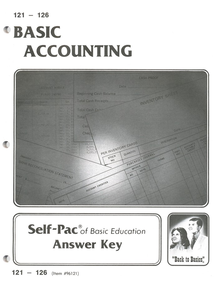 High School Business Elective: Accounting SCORE Keys 121-132