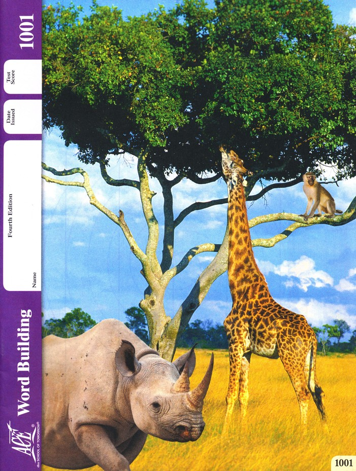 Grade 1 Word Building PACEs 1001-1012, 4th Edition