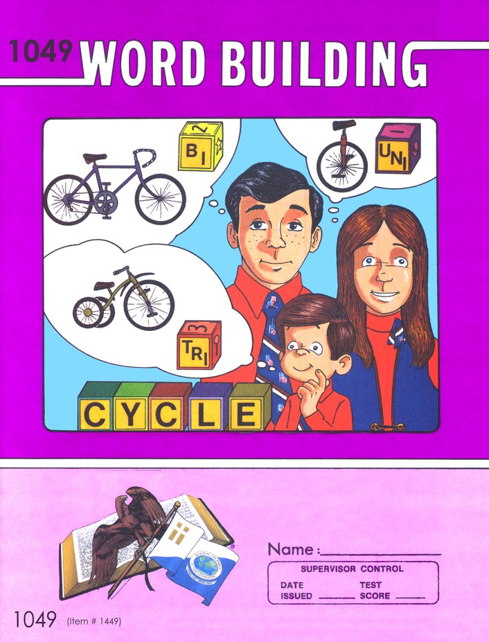 Grade 5 Word Building PACEs 1049-1060 (3rd Edition, with 4th Edition PACEs 1051, 1056, 1058, & 1060)