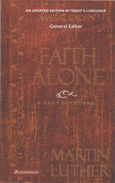 Faith Alone: A Daily Devotional