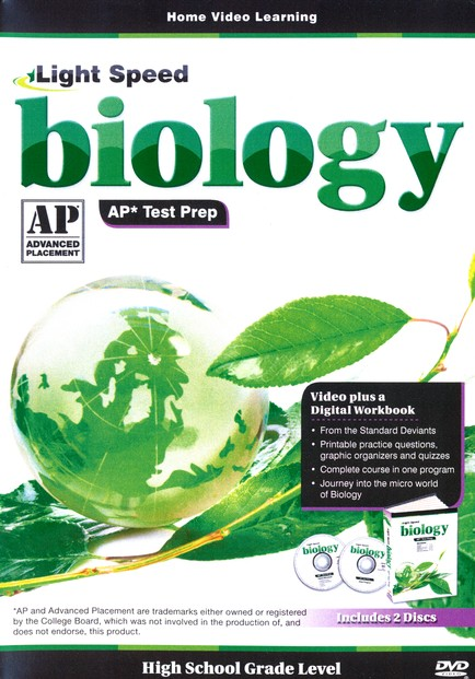 Light Speed Biology AP* Test Prep 2-DVD Set