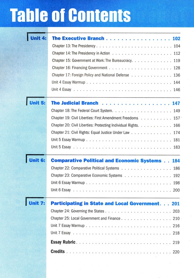 Magruder S American Government Student Workbook Compatible With Both 2010 2013 Copyright Textbooks