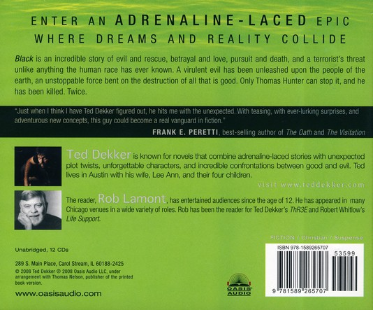 The Circle Trilogy #1:  Black - Unabridged Audiobook on CD