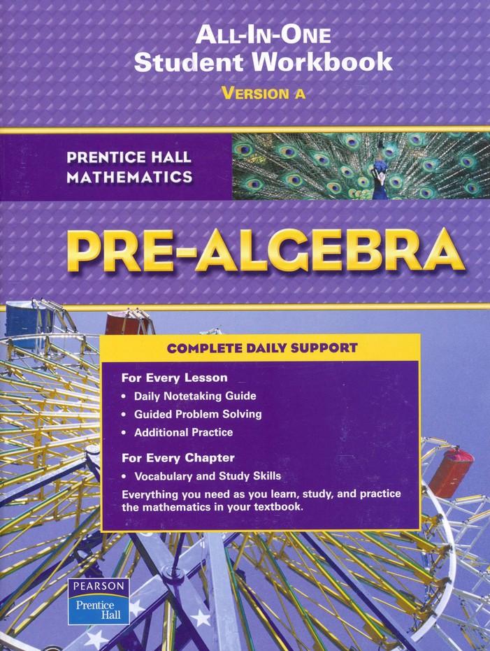 prentice hall mathematics pre algebra student workbook rh christianbook com McDougal Littell Geometry Notetaking Guide Geometry Notetaking Guide