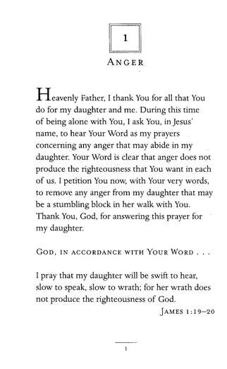 Praying God's Will for My Daughter