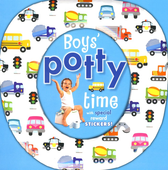 Boys' Potty Time With Reward Stickers