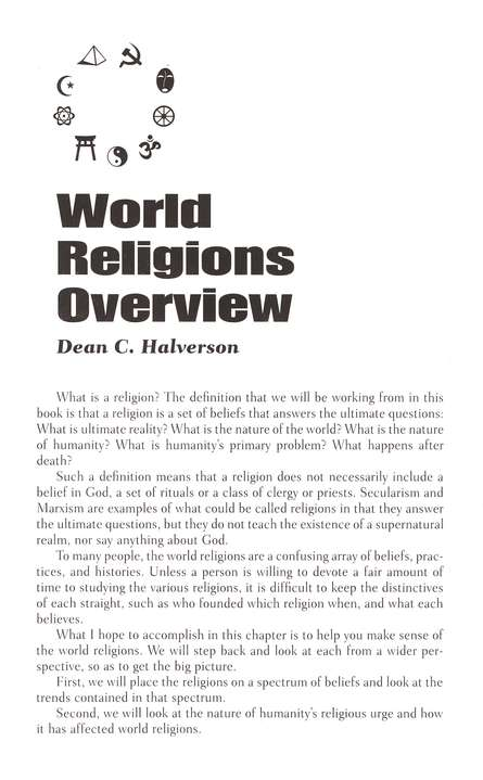 The Compact Guide to World Religions