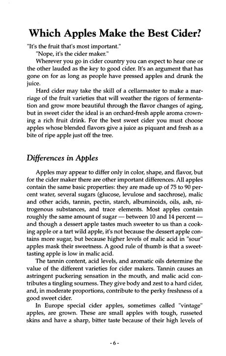Making the Best Apple Cider (A-47)