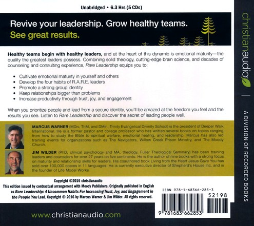 Rare Leadership 4 Uncommon Habits For Increasing Trust Joy And